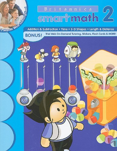 SmartMath Workbooks: Grade 2 (New Britannica Smartmath Workbooks): Learning Horizons