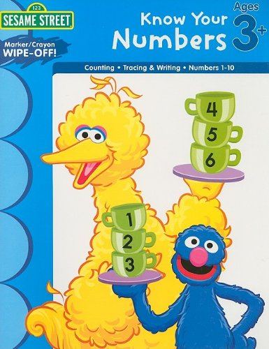 9781595455758: Sesame Street Wipe Off Workbooks: Know Your Numbers (Sesame Street (Learning Horizons))