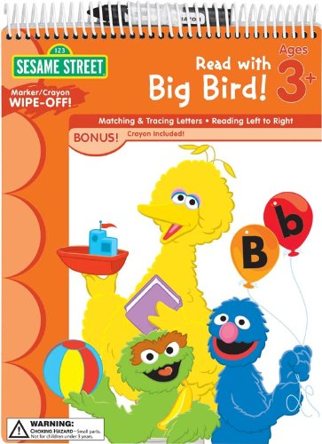 9781595455772: Sesame Street Wipe Off Workbooks: Read with Big Bird! (Sesame Street (Learning Horizons))