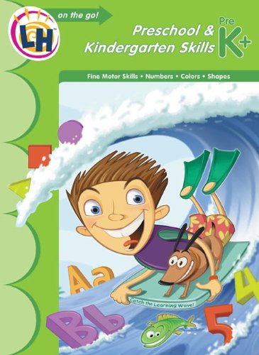 9781595455963: Learn On The Go Workbooks: Preschool & Kindergarten Skills