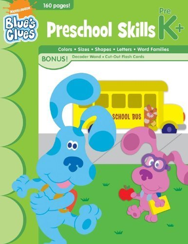 9781595456137: Blue's Clues Preschool Skills Workbook (Nick Jr. Bind-Up Workbooks)
