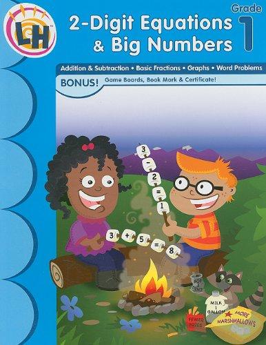 9781595456168: Skill Builders - 2 Digit Equations & Big Numbers Grade 1 (Skill Builders Math)