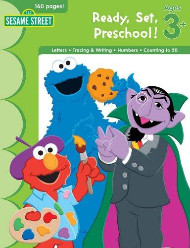 9781595456748: Sesame Street Ready, Set, Preschool!: Ages 3+ (Ultimate Skill Builders)