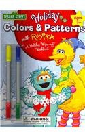 9781595458315: Sesame Street Holiday Colors & Patterns With Rosita: A Holiday Wipe-off Workbook Ages 3+