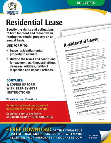 Residential Lease Forms (Form LF310)