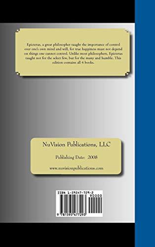 DISCOURSES of Epictetus - Books 1-4: Epictetus