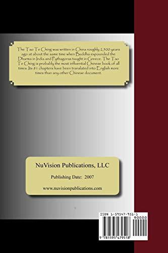 9781595479518: Tao Te Ching (English and Mandarin Chinese Edition)