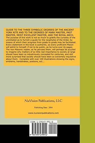 Duncan s Ritual and Monitor of Freemasonry: Malcolm C Duncan