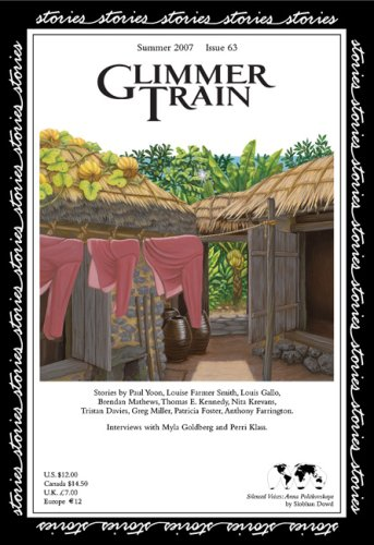 Glimmer Train Stories, #63 (1595530126) by Paul Yoon; Louise Farmer Smith; Louis Gallo; Brendan Mathews; Thomas E. Kennedy; Nita Krevans; Tristan Davies; Greg Miller; Patricia Foster;...