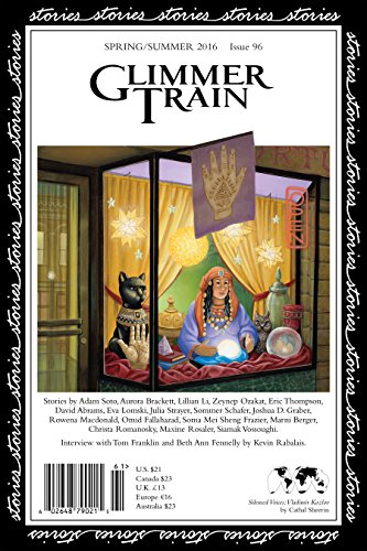 Glimmer Train Stories, #96: A. Soto; A.
