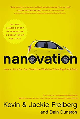 9781595555250: Nanovation: How a Little Car Can Teach the World to Think Big and Act Bold