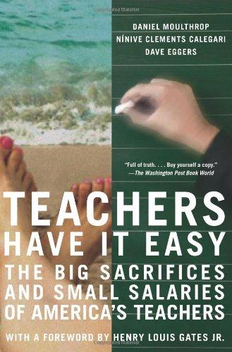 Teachers Have It Easy: The Big Sacrifices: Daniel Moulthrop, Ninive