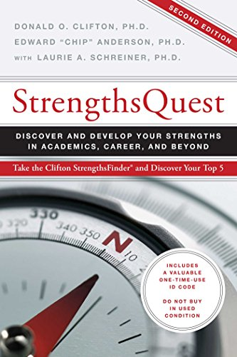 """StrengthsQuest: Edward """"Chip"""" Anderson;"""