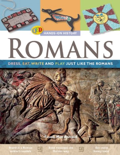 9781595663535: Romans: Dress, Eat, Write, and Play Just Like the Romans (Qeb Hands-On History)