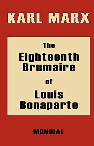 9781595690234: The Eighteenth Brumaire of Louis Bonaparte