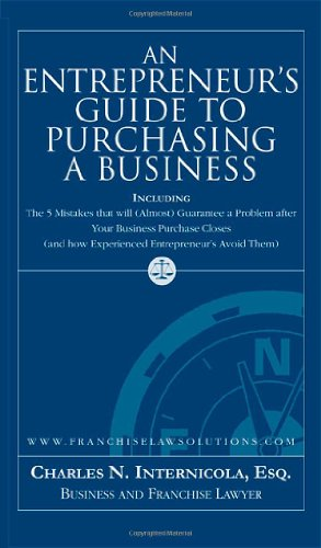 9781595713353: An Entrepreneur's Guide to Purchasing a Business