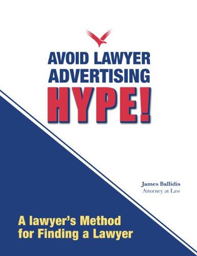 9781595714268: Avoid Lawyer Advertising Hype