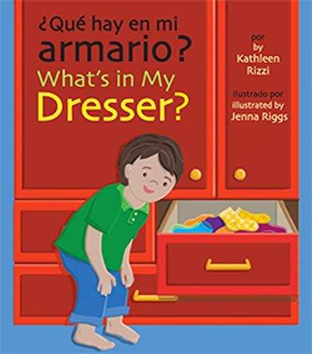 9781595722621: ¿Que hay en mi armario?/ What's In My Dresser? (Spanish and English Edition)