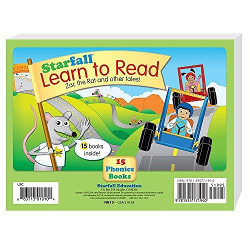 9781595771940: Starfall Learn to Read 15 Phonics Books by Starfall Education (2014-12-01)