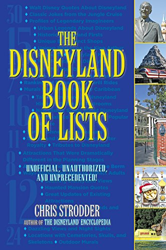 9781595800817: The Disneyland Book of Lists