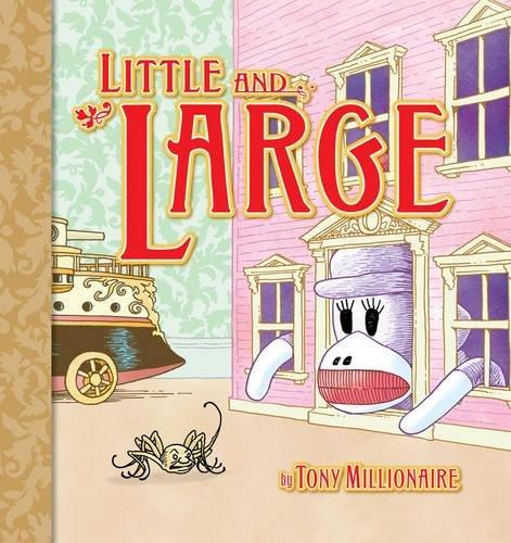 9781595820105: Little & Large (Sock Monkey (Graphic Novels))