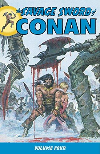 9781595821492: Savage Sword of Conan Volume 4