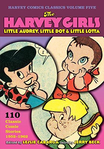 Harvey Comics Classics Volume 5: Harvey Girls (Harvey Comic Classics): Jerry Beck, Leslie Cabarga