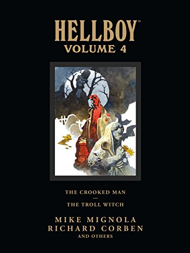9781595826589: Hellboy Library Edition, Volume 4: The Crooked Man and The Troll Witch