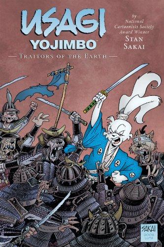Usagi Yojimbo Volume 26: Traitors of the Earth Limited Edition Hardcover: Sakai, Stan