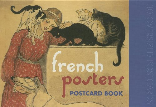 9781595831408: French Posters Postcard Book