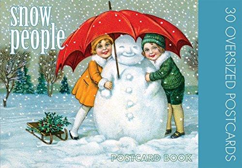 9781595832863: Snow People: 30 Oversized Postcards