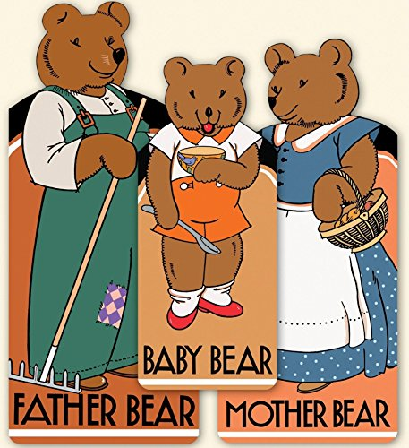 The Bear Family: 3 Shaped Books; Baby: Agnes York Durick