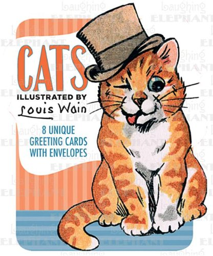 9781595833686: Louis Wain Illustrated Cats Boxed Cards