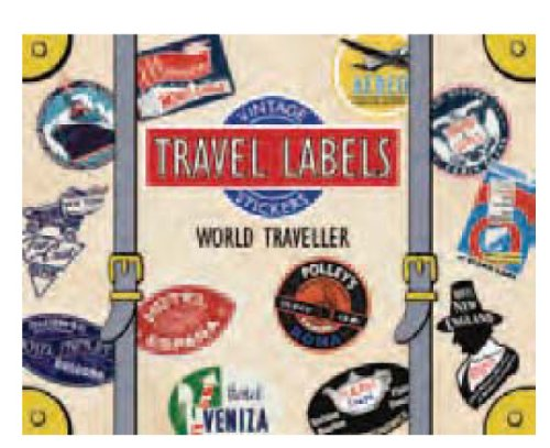 9781595833884: World Traveler Luggage Labels (Travel Stickers)
