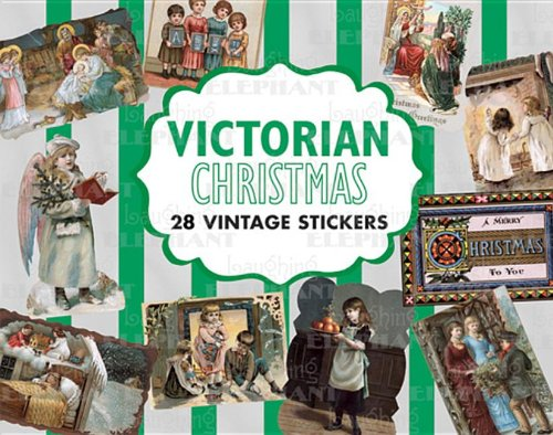 9781595834362: Victorian Christmas: Vintage Stickers