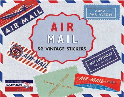 9781595834508: Air Mail Stickers Box (Travel Stickers)