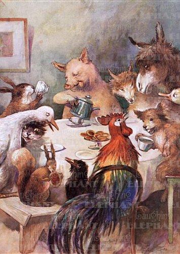 9781595835529: Animal Banquet - Greeting Card (Friendship)