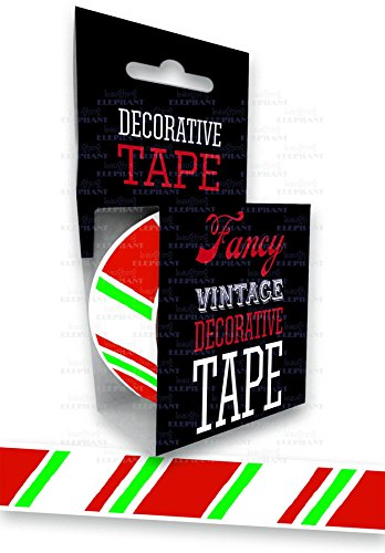 Candy Cane - Tape (Decorative Tape)