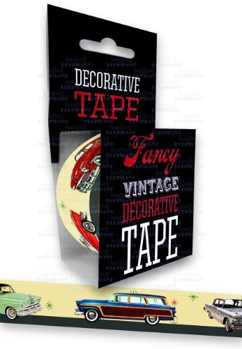 9781595836144: 1950s Cars - Tape (Decorative Tape)