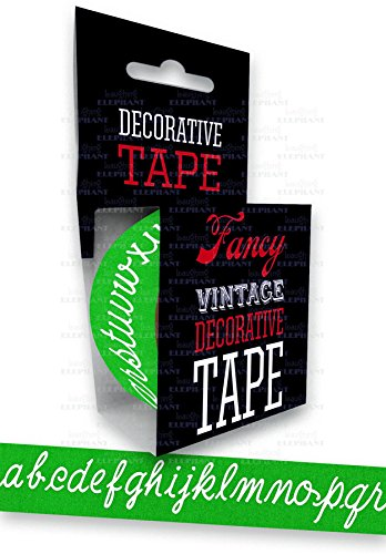 9781595836175: Chalk Board ABC - Tape (Decorative Tape)