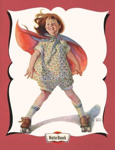 9781595836328: Hello Darling Notebook - Roller Skating Girl (Hello Darling Journals)