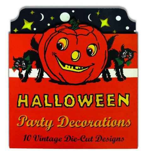9781595836359: Vintage Halloween Cardboard Cutouts: Die Cut Party Decorations