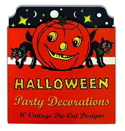 9781595836359: Halloween Party Decorations: 10 Vintage Die-Cut Designs