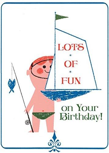 9781595837837: Boy With Toy Sailboat (Birthday)