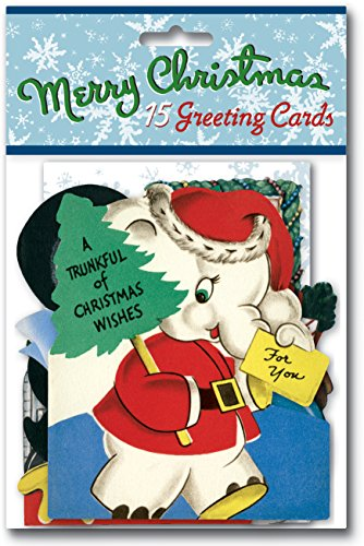 9781595838919: Vintage Christmas Cards Packet: 15 Greeting Cards with Envelopes