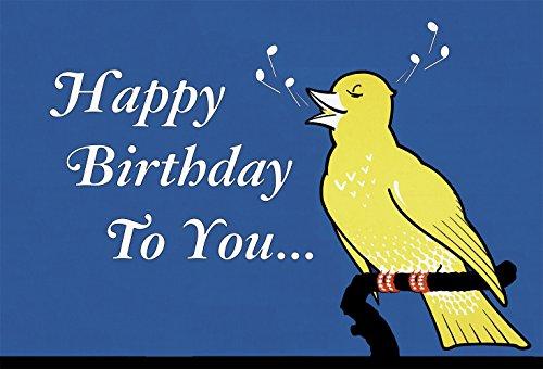9781595839237: Happy Birthday to YOU - Singing Bird Birthday Card