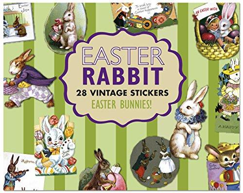 Easter Rabbit Sticker Box: Laughing Elephant