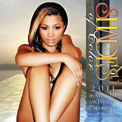 9781595862235: 2011 Shades of Color Swimsuit Calendar