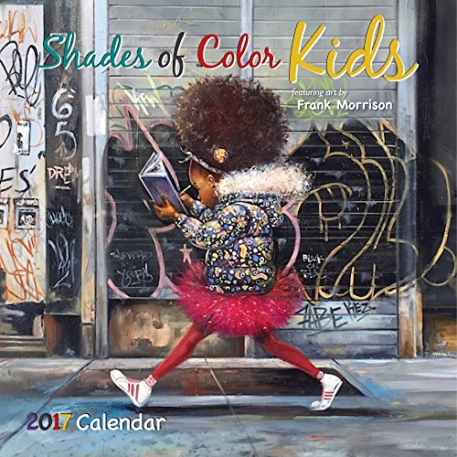 9781595867995: Shades of Color Kids 2017 Calendar
