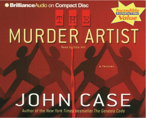 The Murder Artist (1596004258) by Case, John